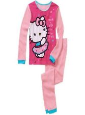 Hello Kitty Girls Cotton Thermal Underwear Set, Size: 6 Small, NWT
