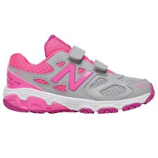 New Balance 680 GIRL'S RUNNING STRAPS SHOES,GREY/PINK*USA Brand-Size US 5,6 Or 7