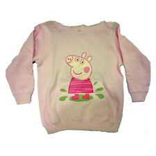 PEPPA PIG sweatshirt pink candy in cotton fleece various sizes from girl