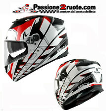 Full-face helmet helmet capacete helmet Shark speed-r craig white red black