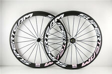 50mm Carbon Clincher 700c Bike Bicycle Wheels Road Racing Wheelset For Shimanoo