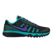 Nike Dual Fusion Trail-2 WOMEN'S RUNNING SHOES,BLACK/PURPLE-Size US 8, 8.5 Or 11