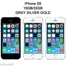 APPLE IPHONE 5S 16GB 32GB FACTORY UNLOCKED SMARTPHONE US SELLER GRAY SILVER GOLD