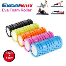 33cm EVA GYM Grid Foam Roller Yoga Exercise Physio Pilates Massage Trigger Point