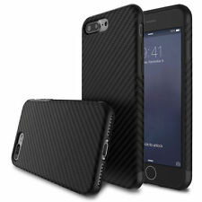 Allergy-proof Carbon Fiber Pattern TPU Case Cover for Apple iPhone 7 6S/6 Plus