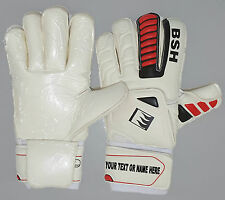 Custom Print  Professional Football Goalie  Fingerssave Gloves with Contact foam