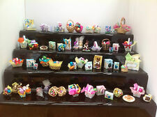 DOLLS HOUSE MINIATURES  - HANDMADE EASTER EGGS ITEMS (X1) (12 VARIATIONS)