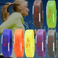 Children Child Kids Boy Girl Unisex LED Digital Wrist Watch Wristwatch B0N01
