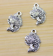 wholesale: 30/50/100 pcs Retro style Very lovely fish alloy charm pendant