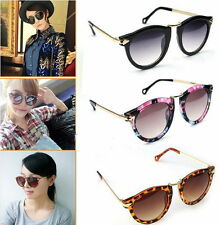 Women's Unisex Sunglasses Arrow Style Eyewear Round Sunglasses Metal Frame AC