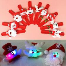 6/3PCS Christmas Patting Circle Children Gift Christmas Party Toys Wrist Strap *