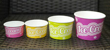 ICE CREAM GELATO TUBS 1, 2, 3 & 4 SCOOP SIZES 500/250 EASTER DEAL FREE DELIVERY