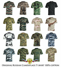 Original SPLAV Army Military Russian Camo T-Shirt 100% High Quality 100% Cotton