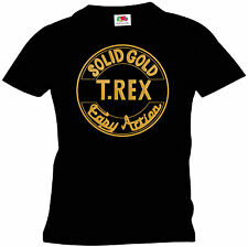 T REX T Shirt Solid Gold Easy Action
