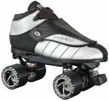 Labeda G80 G-80 Silver Streak Leather Quad Speed Roller Derby Jam Skate