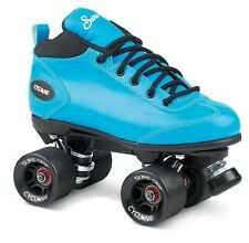 New! Sure-Grip Blue Cyclone Quad Roller Speed Skates