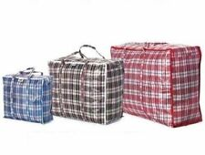 REUSABLE LAUNDRY STORAGE BAG SHOPPING BAGS ZIPPED STRONG EXTRA LARGE LAUNDRY BAG