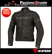 Motorcycle jacket estiva perforated Dainese Air-Frame Tex black