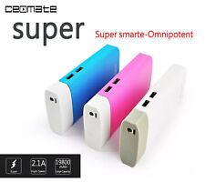 19800mAh Power Bank External USB Charger Portable Battery for iPhone Samsung HTC