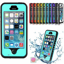 Waterproof Shockproof Dirt Snow Proof Heavy Duty Case Cover For iPhone 5S/5/SE