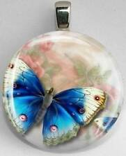 Handmade Interchangeable Magnetic Butterfly #2 Pendant Necklace