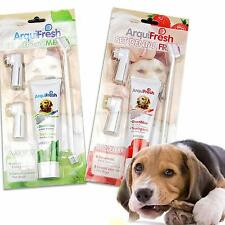 4 in 1 Pet Dog Cat Toothpaste Toothbrush Finger Brush Puppy Hygiene Dental Care