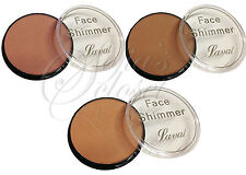 Contour Colouring Tan Sweep Glow 3 Colours Laval Face Shimmer Bronzing Highlight