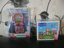 BNIB PEPPA PIG'S LITTLE TELEPHONE MOBILE PHONE THEME PARK RIDE ROCKET CUP CAKE