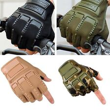 Tactical Half Finger Gloves Outdoor Sports Military Army Sports Hiking Fishin kk