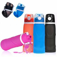 1000ML Portable Foldable Water Bottle Hiking Cycling Water Drinking Bottle Cup