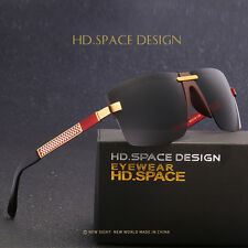 HD.SPACE New men's sunglasses Fashion driving sunglasses Polarized sunglasses