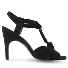 Wittner Ladies Shoes Black Suede Heels