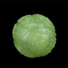 Pet Dog TPR Ball Squeaky Glow in The Dark Ball for Pets Chew Toy Ball Pet Toy