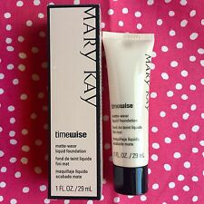 NEW -Mary Kay -TimeWise Matte Wear Liquid Foundation -Ivory Shades