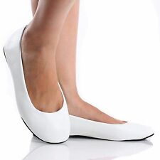 Women's Flat Ballet Ballerina Slip On Slipper Round Toe Casual Ladies shoes Amy