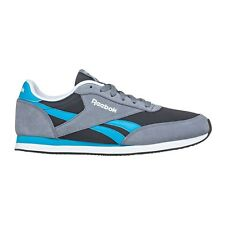Reebok Royal CL JOGGER MEN'S CASUAL SHOES, GREY/BLUE - Size US 7, 8, 9 Or 10