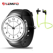 Lemfo LES1 Bluetooth SIM 1/16GB Smart Watch Phone GPS WiFi Sport For Android iOS