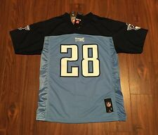 Chris Johnson Tennessee Titans NFL Team Apparel Youth Game Jersey New With Tags