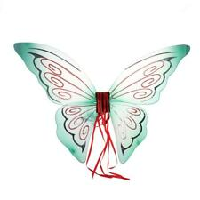 Girls Mixed Style Glitter Butterfly Angel Fairy Wings Party Fancy Dress Outfits