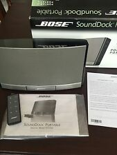 NEW Bose Sounddock Portable IPOD/IPHONE Speaker System  & Remote Control