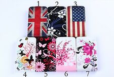 Luxury PU Leather Wallet Flip Case Ultra Slim Cover for LG Optimus L70 D320 D325