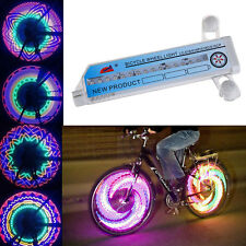 30 & 42 Pattern Bicycles Colorful LED Wheel Spoke Light with AAA Batteries