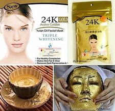 50 g. 24K Active Gold Whitening Soft Face Mask Gold Powder