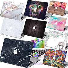 """Hard Rubberized Case Shell +Keyboard Cover for Macbook Pro 13/15"""" Air 11/13""""inch"""