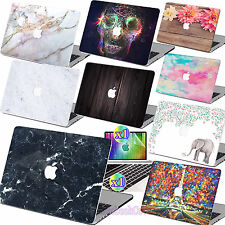 "Hard Rubberized Case Shell +Keyboard Cover for Macbook Pro 13/15"" Air 11/13""inch"
