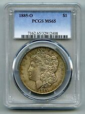 1885 O Morgan Silver Dollar -- PCGS MS 65 -- Mint State!  Free Shipping in USA!!