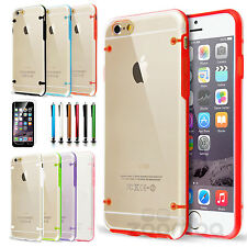 Luminous Glow in Dark Slim Case Hard Clear Back Cover TPU Bumper For iPhone 6S