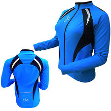 Womens Cycling Jersey Full Sleeves Thermal Bicycle Cycle Top Winter Jacket