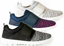 Womens Trainers Lightweight Comfort Touch Fasten Trainer Shoe