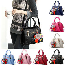Lady Women's Fashion Large Tote ribbon zip Handbag Purses Shoulder bag Messenger